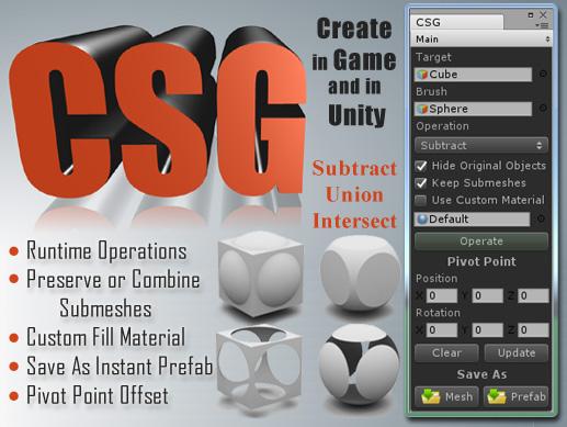 Mesh Maker | CSG