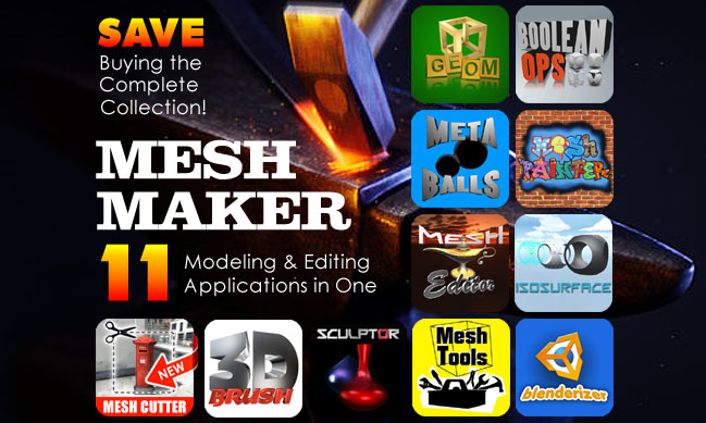 Mesh Maker | Modeling & Editing Collection For Unity3D