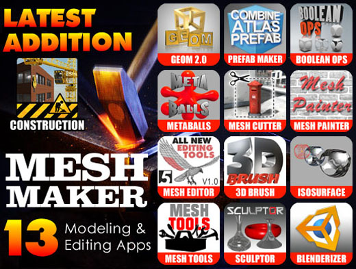 The Mesh Maker Collection