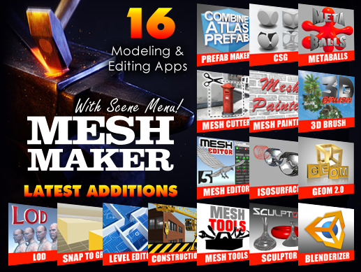 Mesh Maker - The Modeling & Editing Collection - Unity Forum